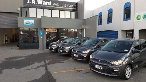 JA Ward Panel & Paint Courtesy Vehicles